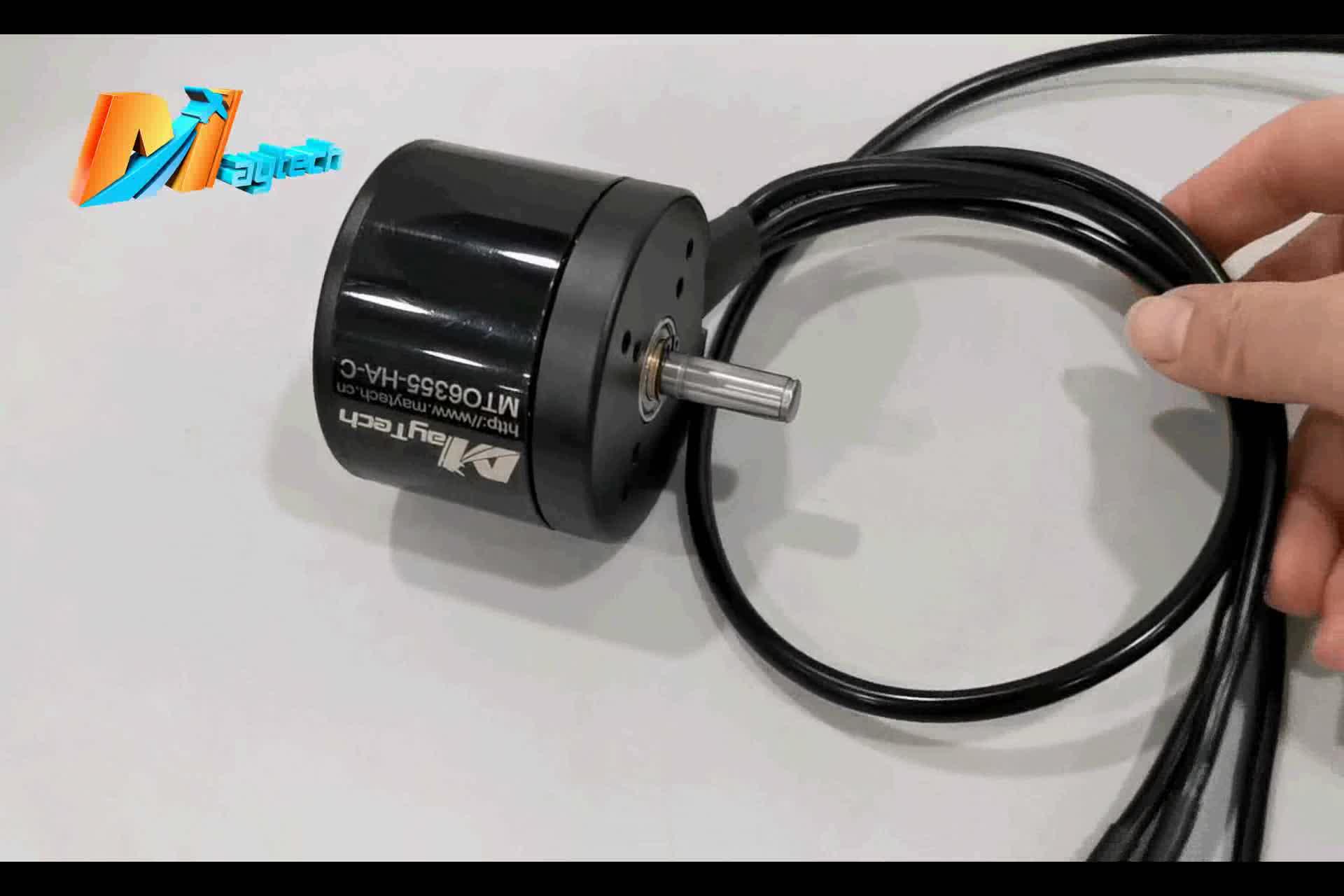Maytech 6355 brushless motor sealed sensored 170KV e skateboard or mountainboard motor
