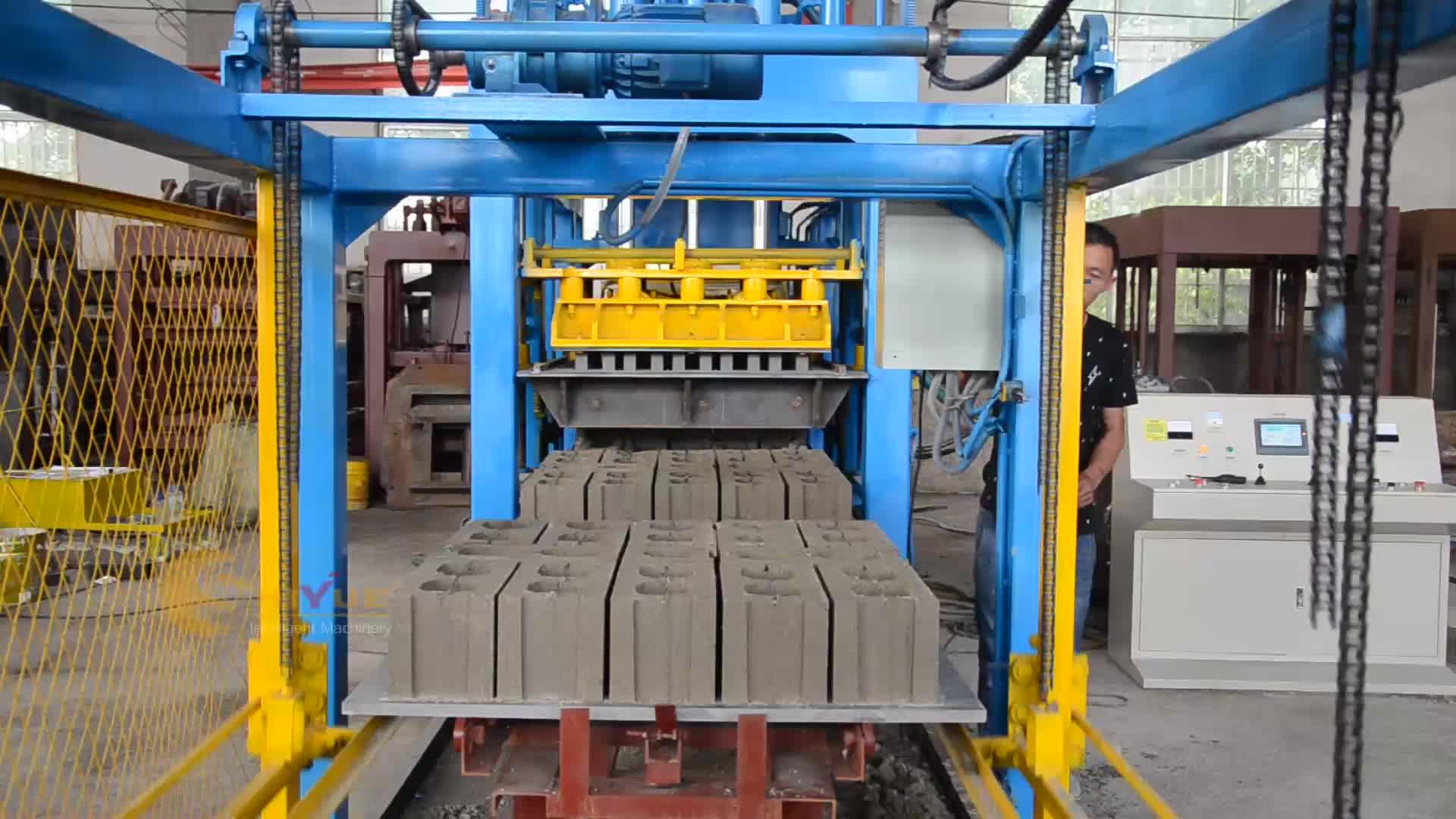 QT8-15 yaygın olarak kullanılan usa satılık beton blok yapma makinesi