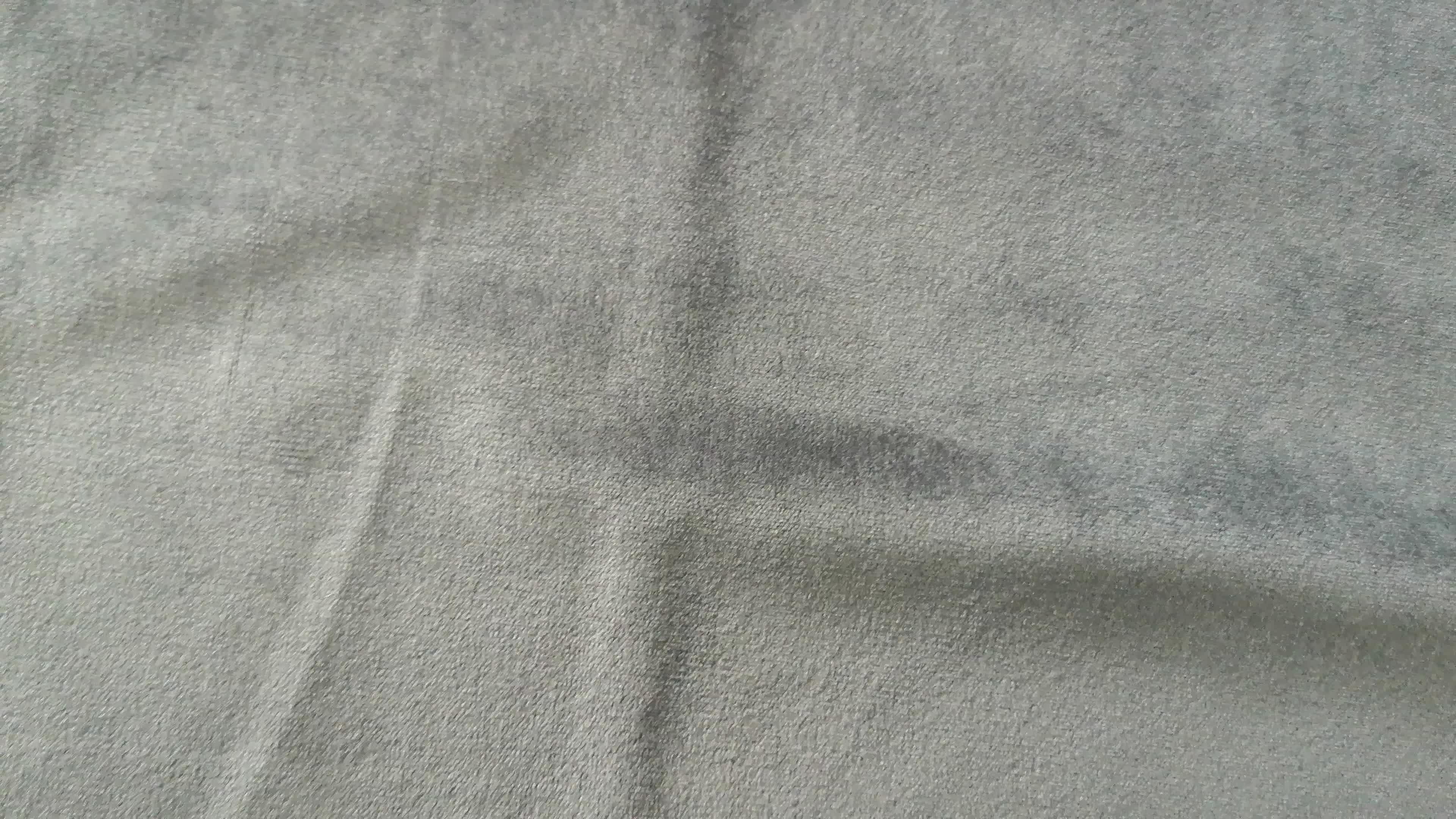 Özel % 100 polyester parça boyalı hollanda kadife kumaş genişliği