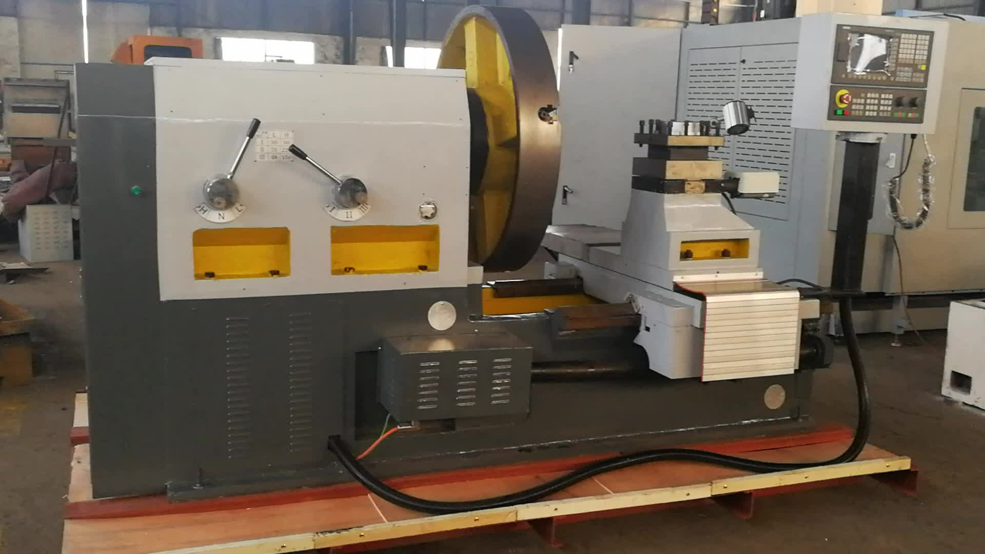 CK64125 CNC רכזת מקורבות מחרטה מפנה מחרטה גלגל חיתוך כלים למכירה