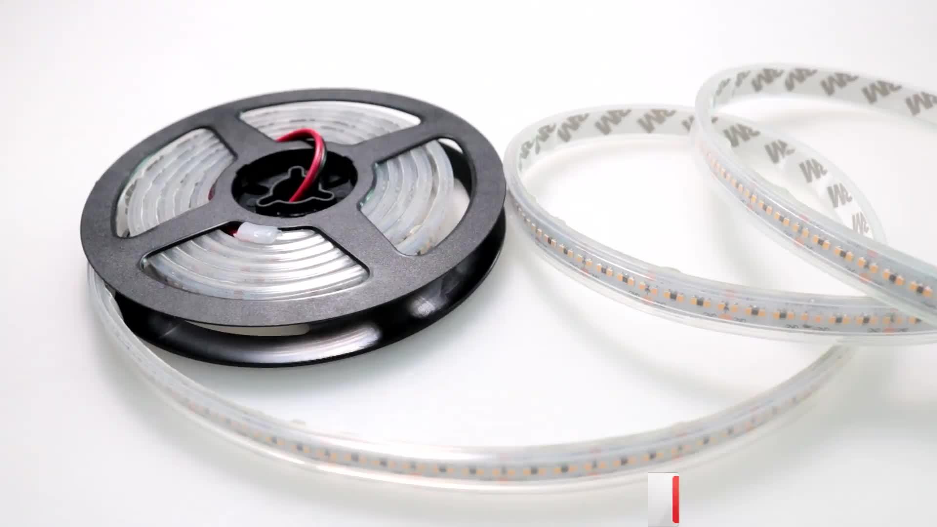 10mm smd 24 v flexibele decoratieve 2216 tv Led Light Strip