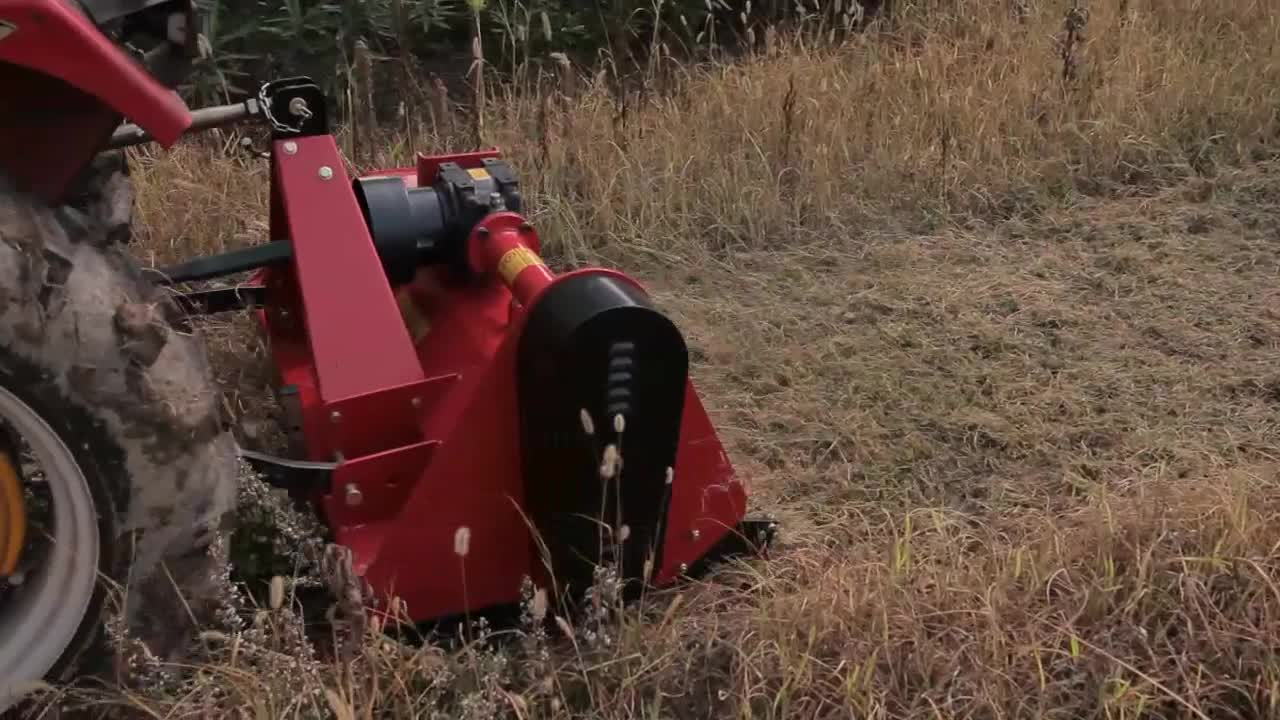 Agro machinery china tow behind flail mower  with CE