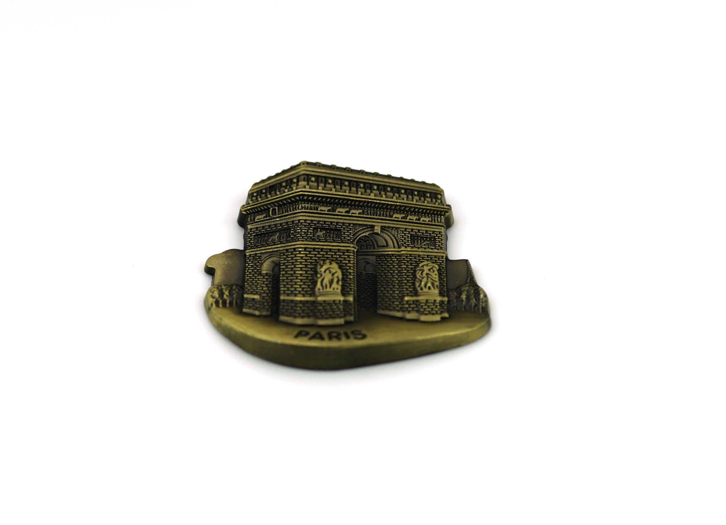 OEM Customized High Quality Souvenir 3D Anti Bronze Fridge Magnet