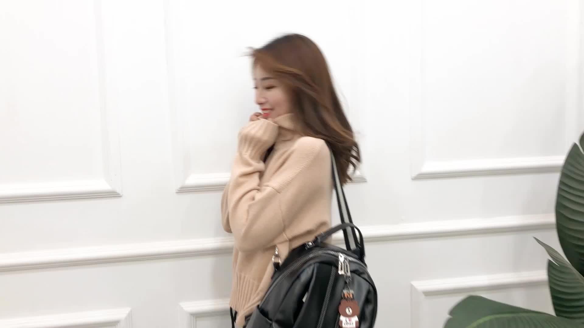 Water proof female bag travel back pack pu backpack ladies