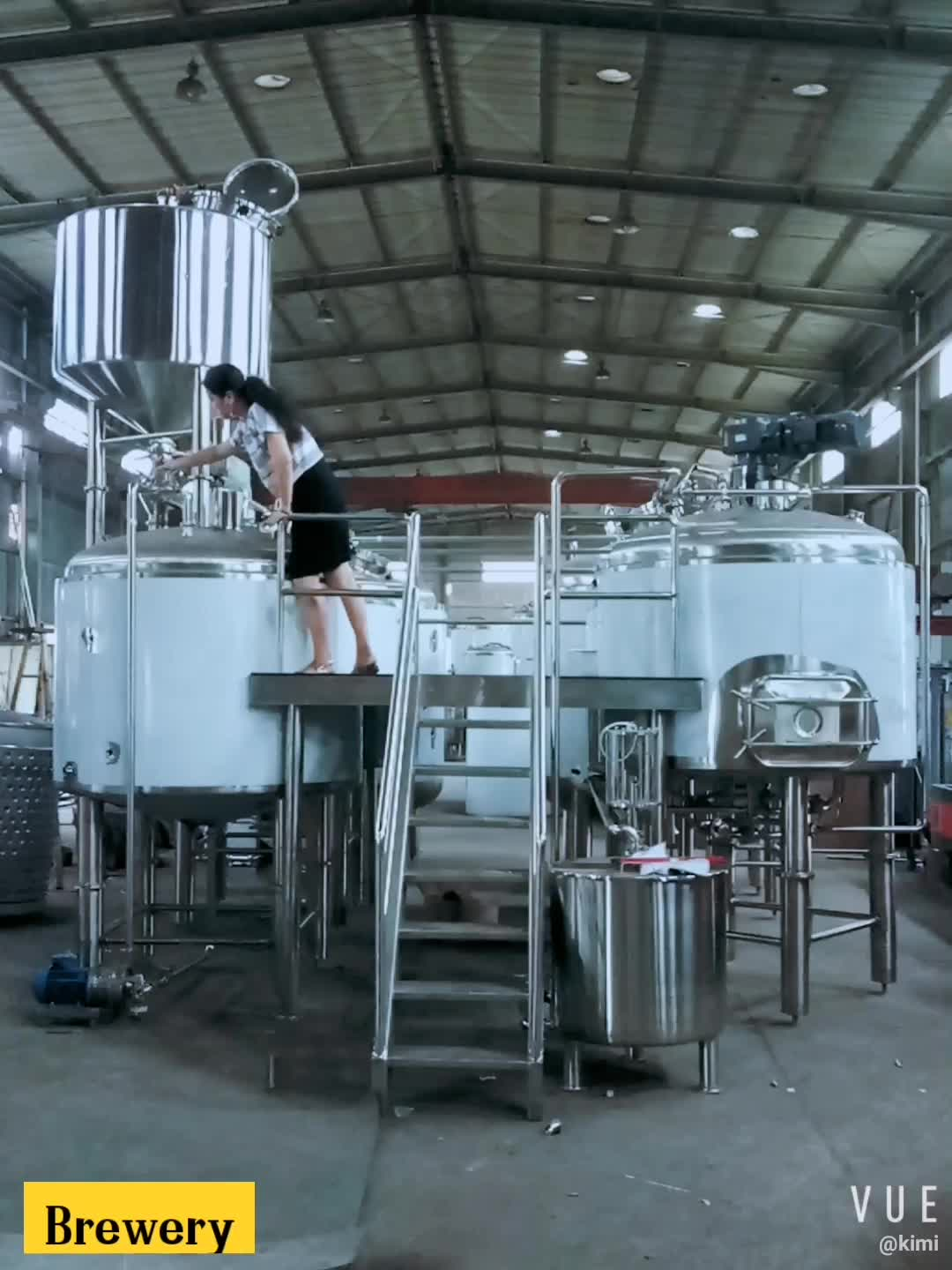 1000l beer brewing used micro brewery equipment