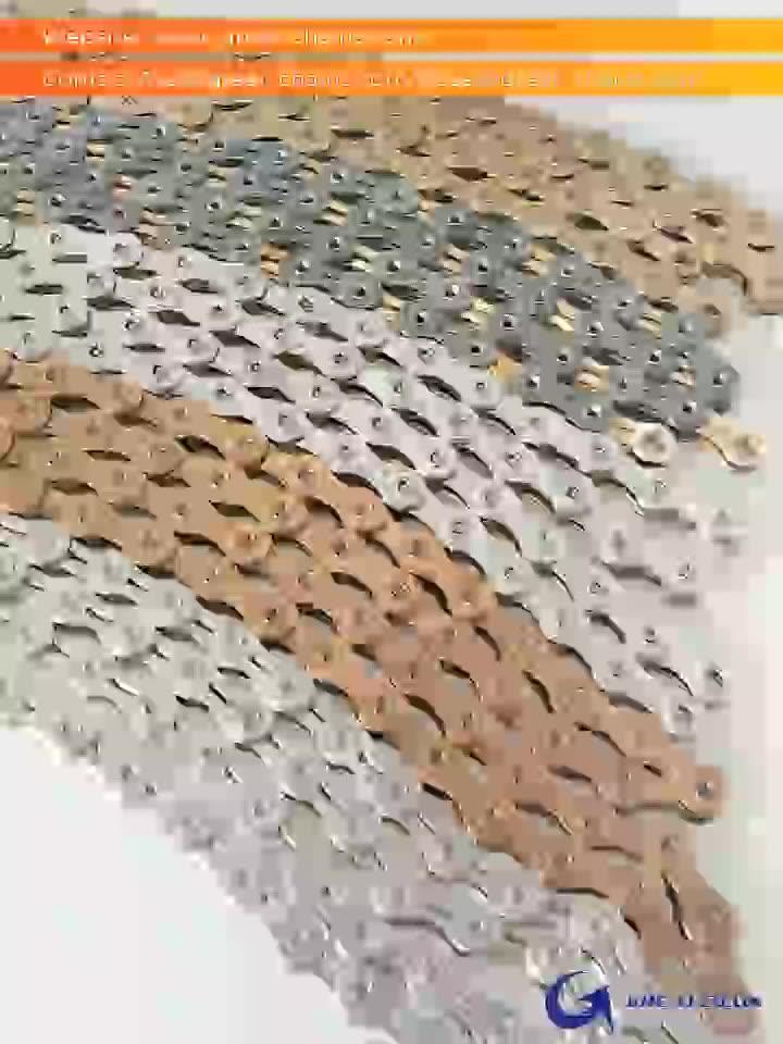 """จักรยานจักรยานโซ่ 1/2 """"1/8"""" 116 เงินที่กำหนดเอง BMX Power PIN สีวัสดุ"""