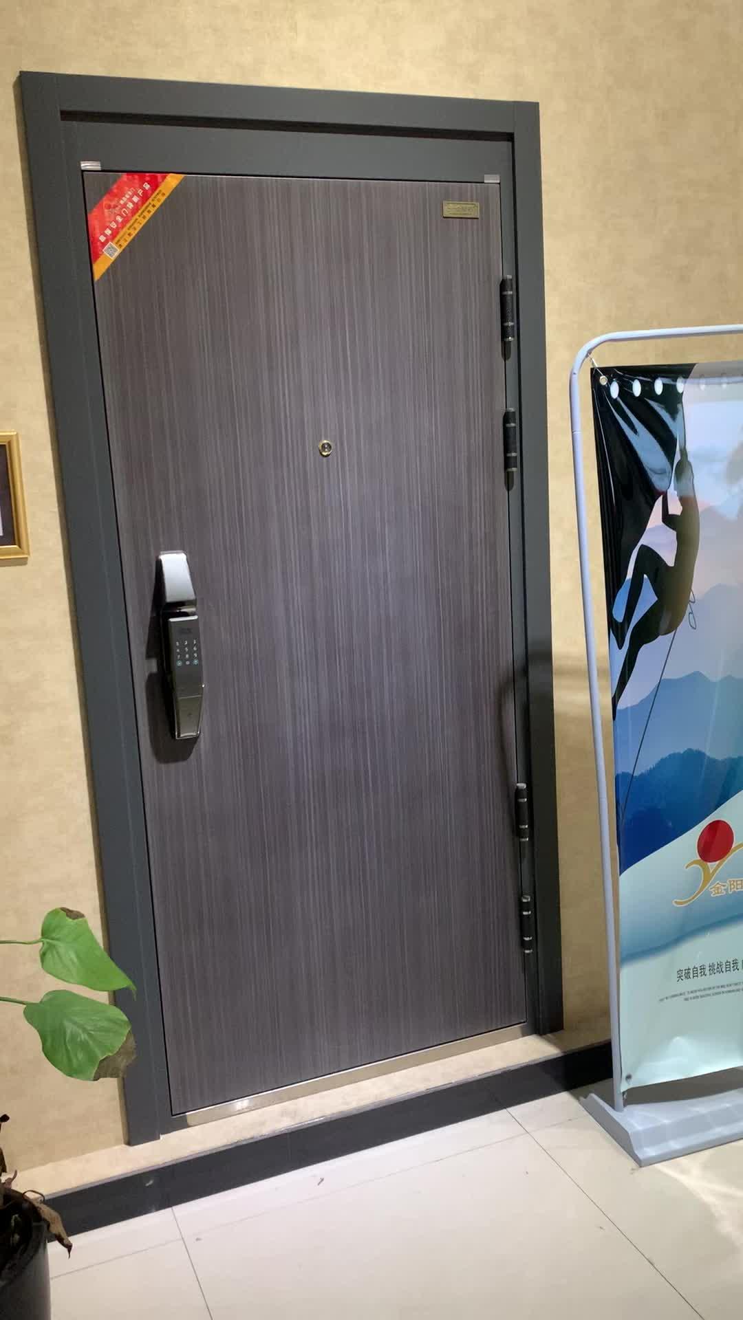 Ägypten Markt Heißer Verkauf Wohn Günstige Stahl Home Security Tür