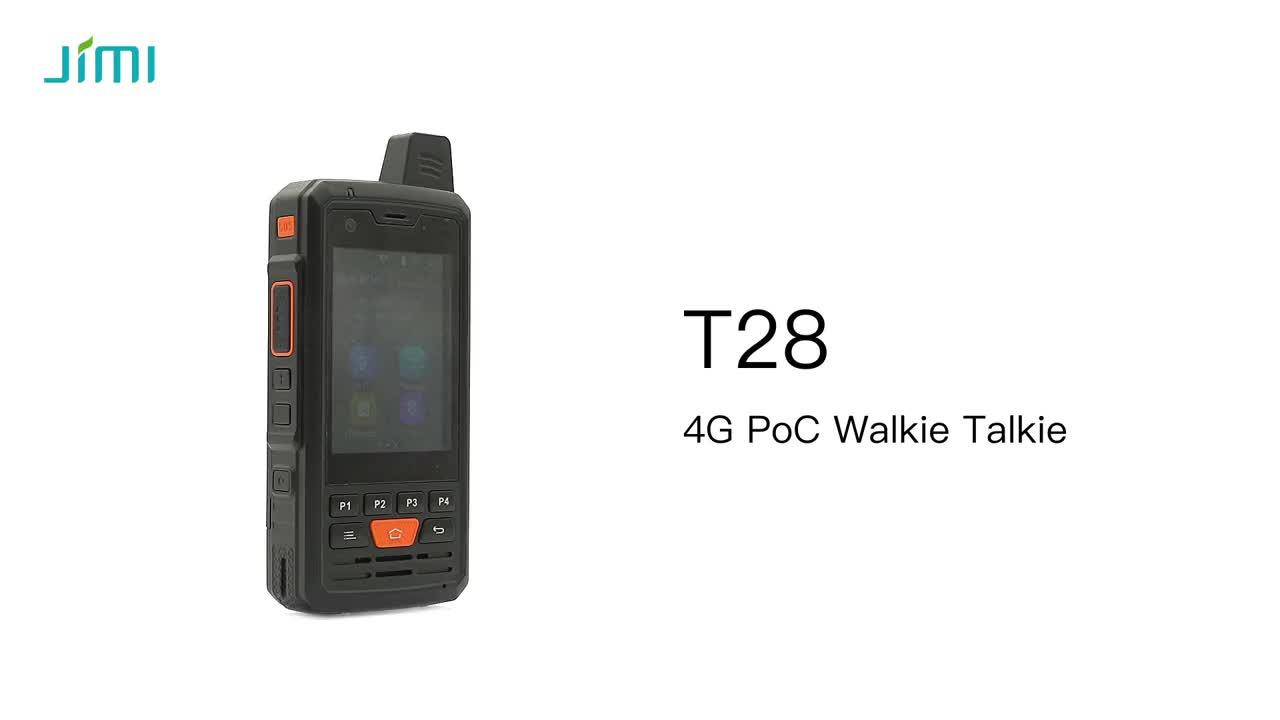 JIMI T28 4G PTT Phone