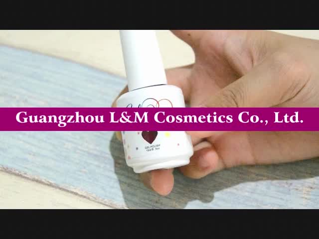 L&M OEM ODM Factory uv gel lidan nail polish Base Top Coat  Soak off Nail Gel Polish 7.3ml