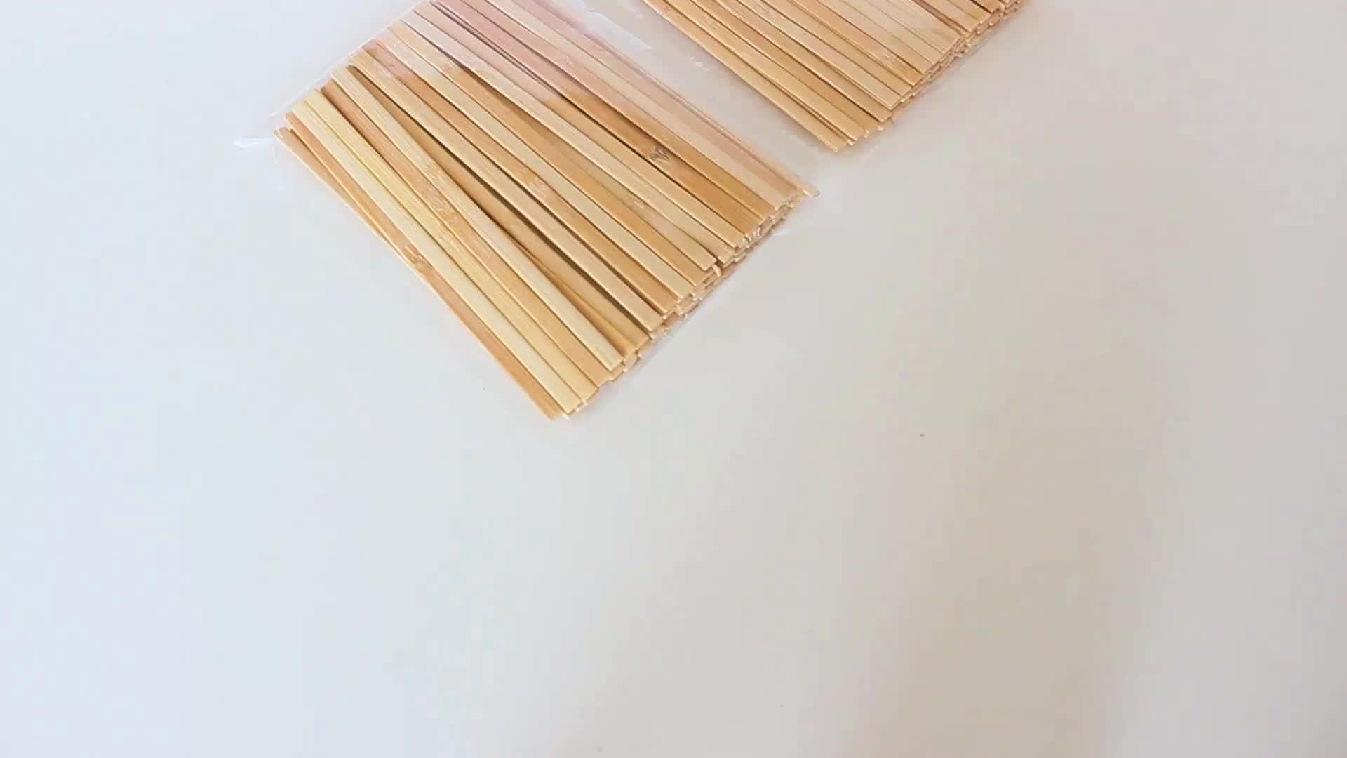 Bere Polvere Stir Stick Può Abitudine Di Bambù tazza di Caffè Tè Stir Stick Con Piccolo Cucchiaio Cerchio