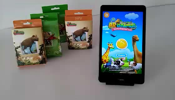kids toys 2019 educational augmented reality AR cards in Guangzhou wholesale or retail