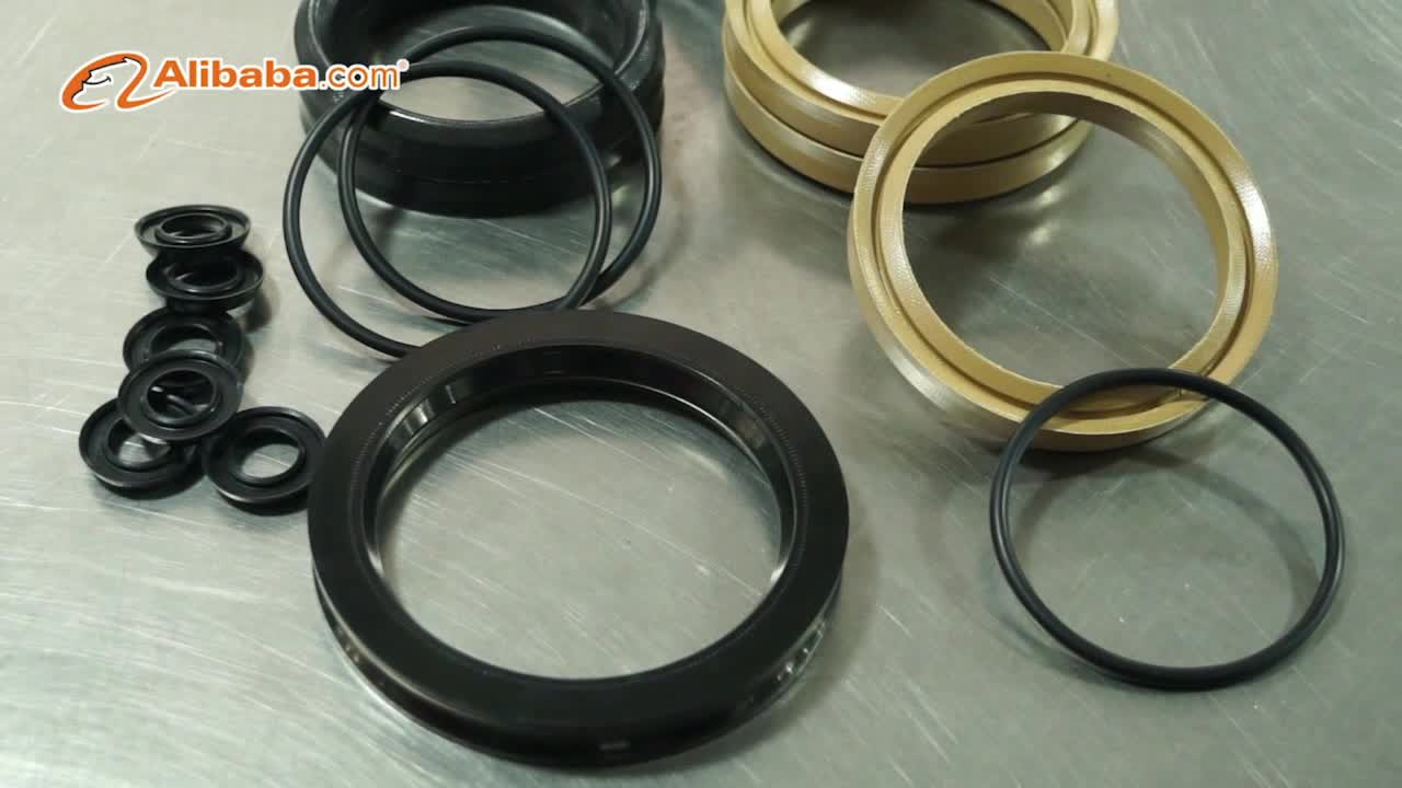 Fabric reinforced vee packing for plunger pump fracturing pump