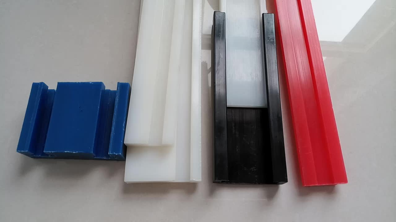 Self Lubricating Plastic Uhmwpe Guide Rail/uhmwpe Chain And Sprocket