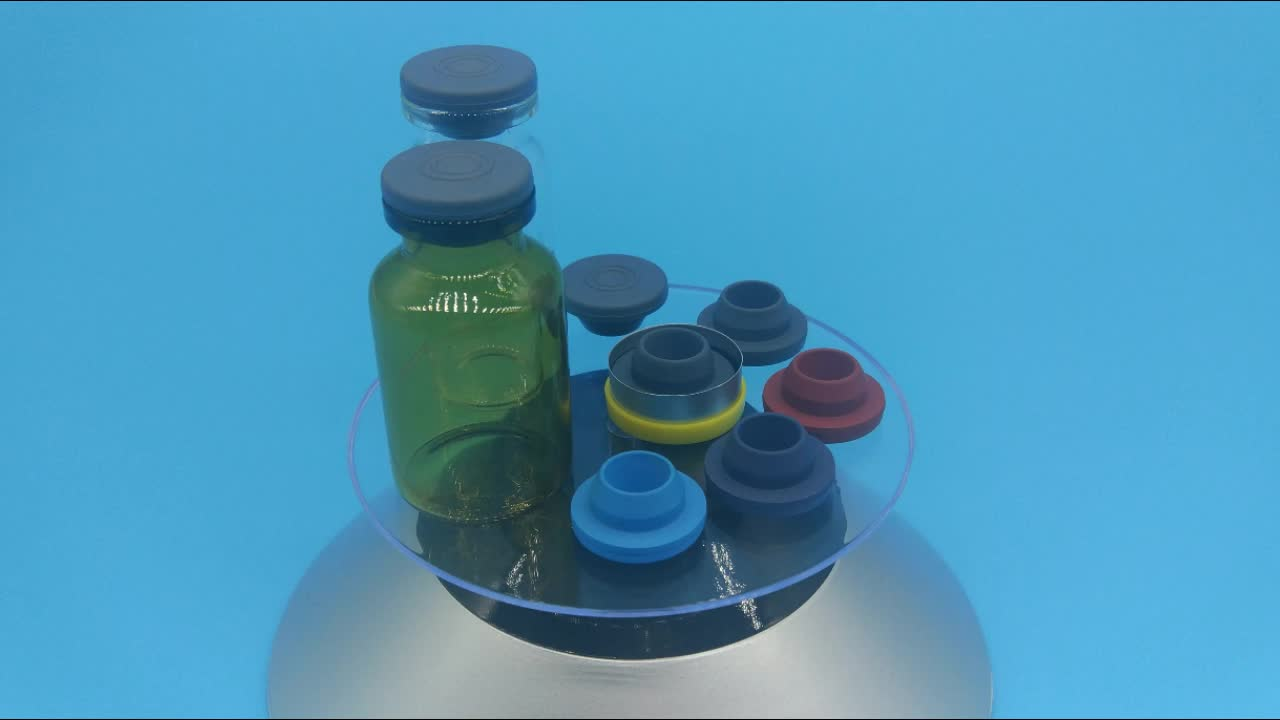 20-A Grey Brominated Butyl Rubber Stopper Used for Injection Bottle