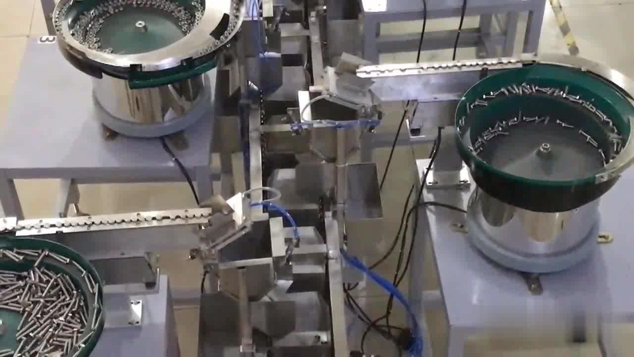금속 스페이서 가스켓/육각 너트 자동 계산 자루에 넣기 기계