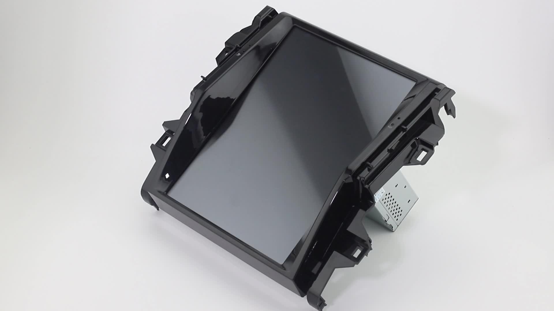 12.1 pollici verticale dello schermo di Android 7.1 Lettore DVD Dell'automobile Per Toyota Camry 2007 2008 2009 2010 2011 2012 Stile di Tesla