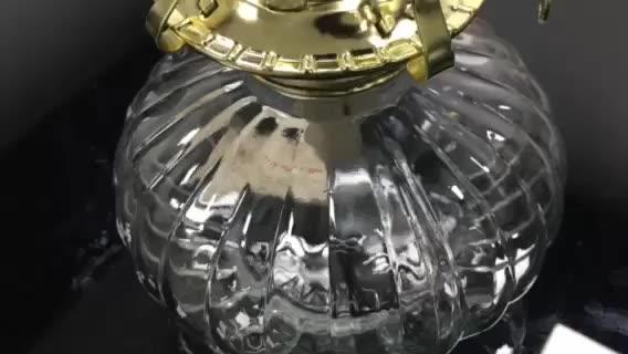 Durable de alta calidad de Metal clásico de vidrio antiguo lámpara de queroseno