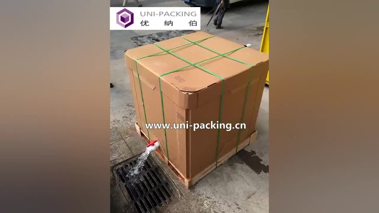 food grade ibc tank ibc tote packaging cardboard box paper ibc