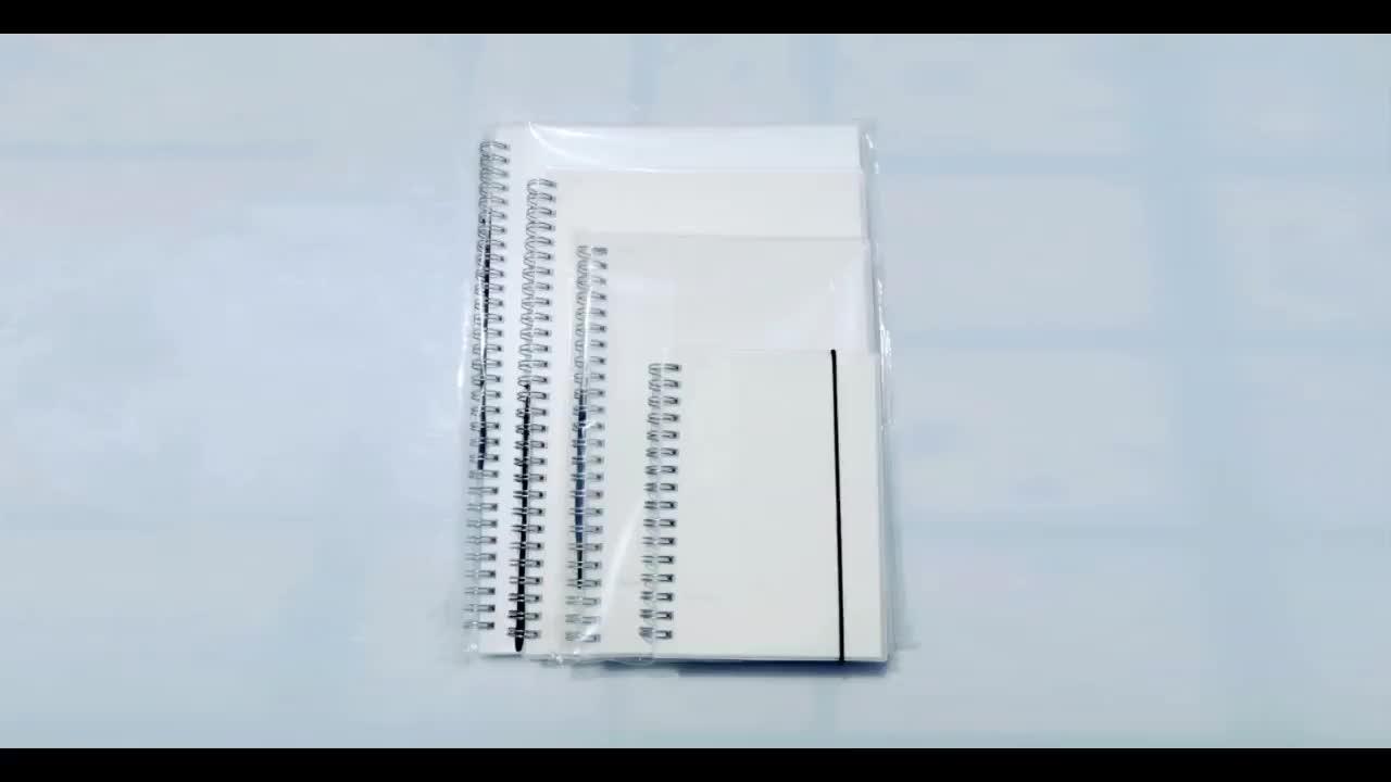 ขายส่ง spiral bound notebook b5 ปกแข็งสมุดบันทึกโน้ตบุ๊ค