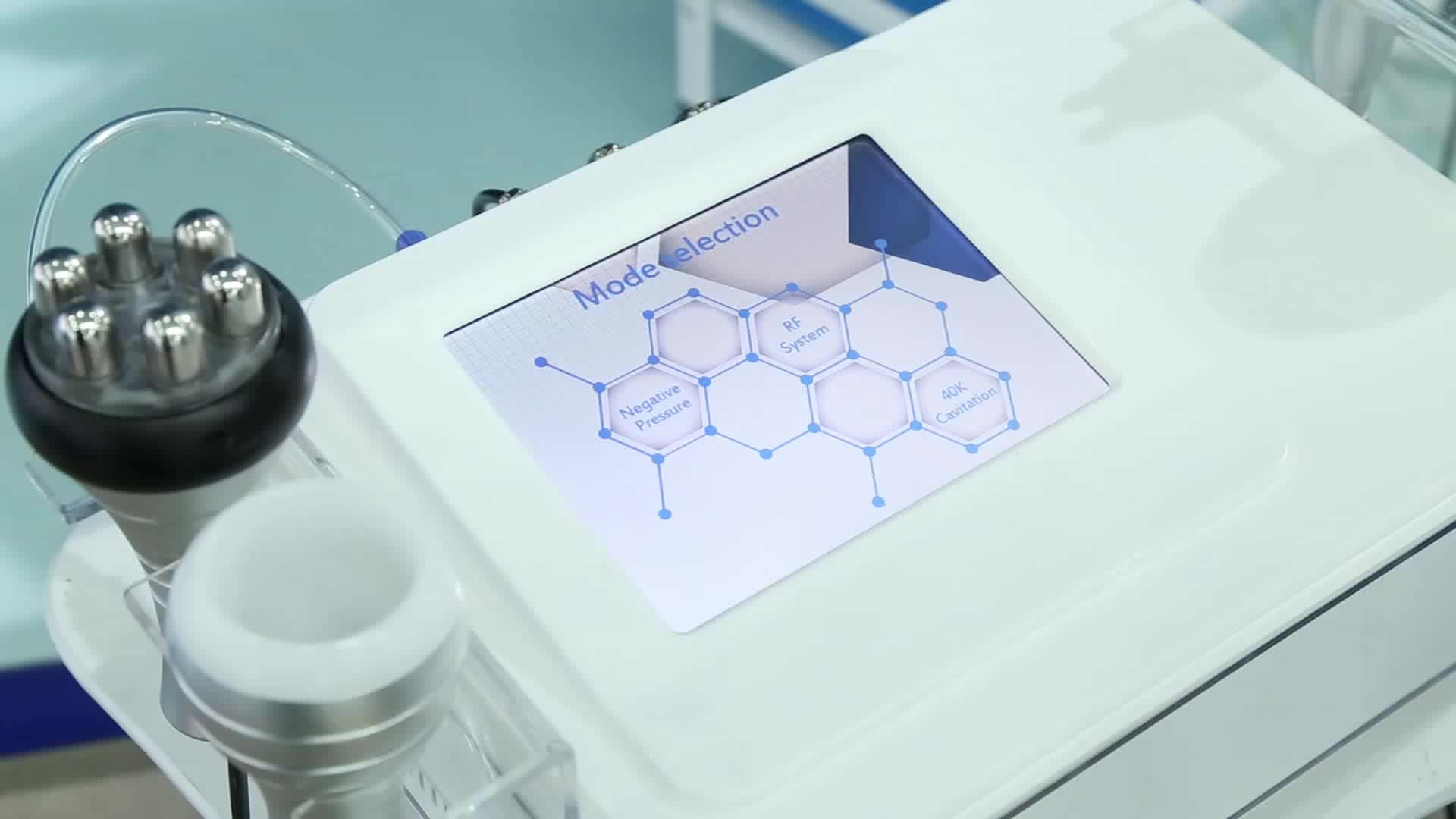 Multifunction 5d Portable Vacuum Multipolar Rf Ultrasound 40k Cavitation Slimming Machine