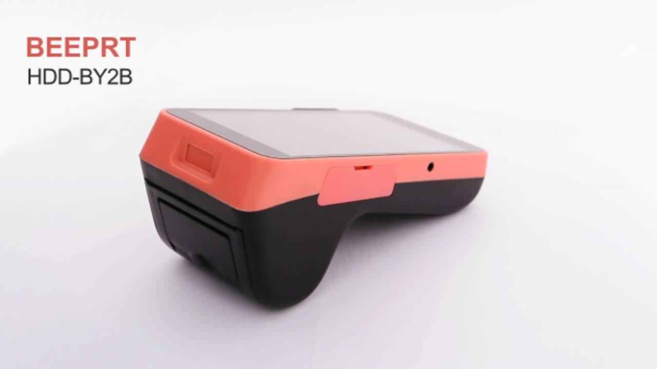 China thermal  mini Portable android POS system restaurant electronic cash register machine equipment with printer and scanner
