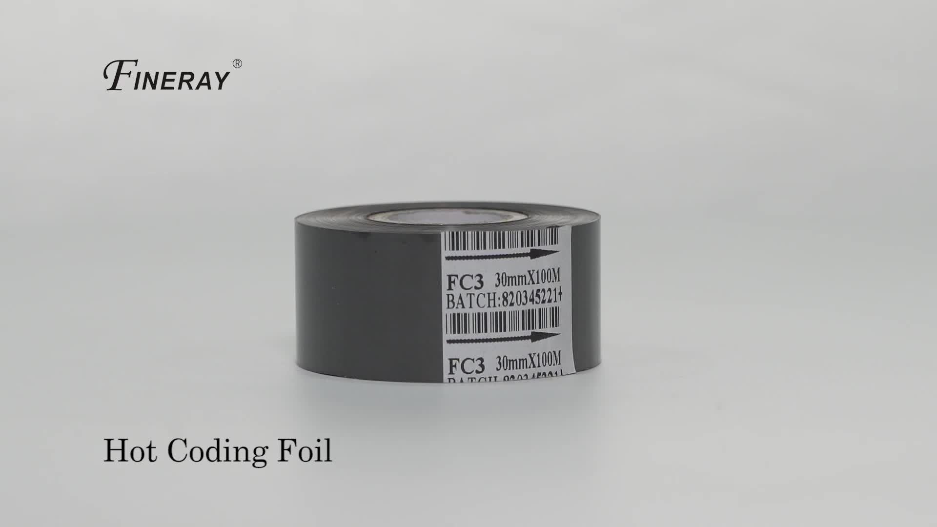 FC3 25MM*122M Ribbon For HP-241B/DY-8 date coding machine,ribbon hot stamp date coder