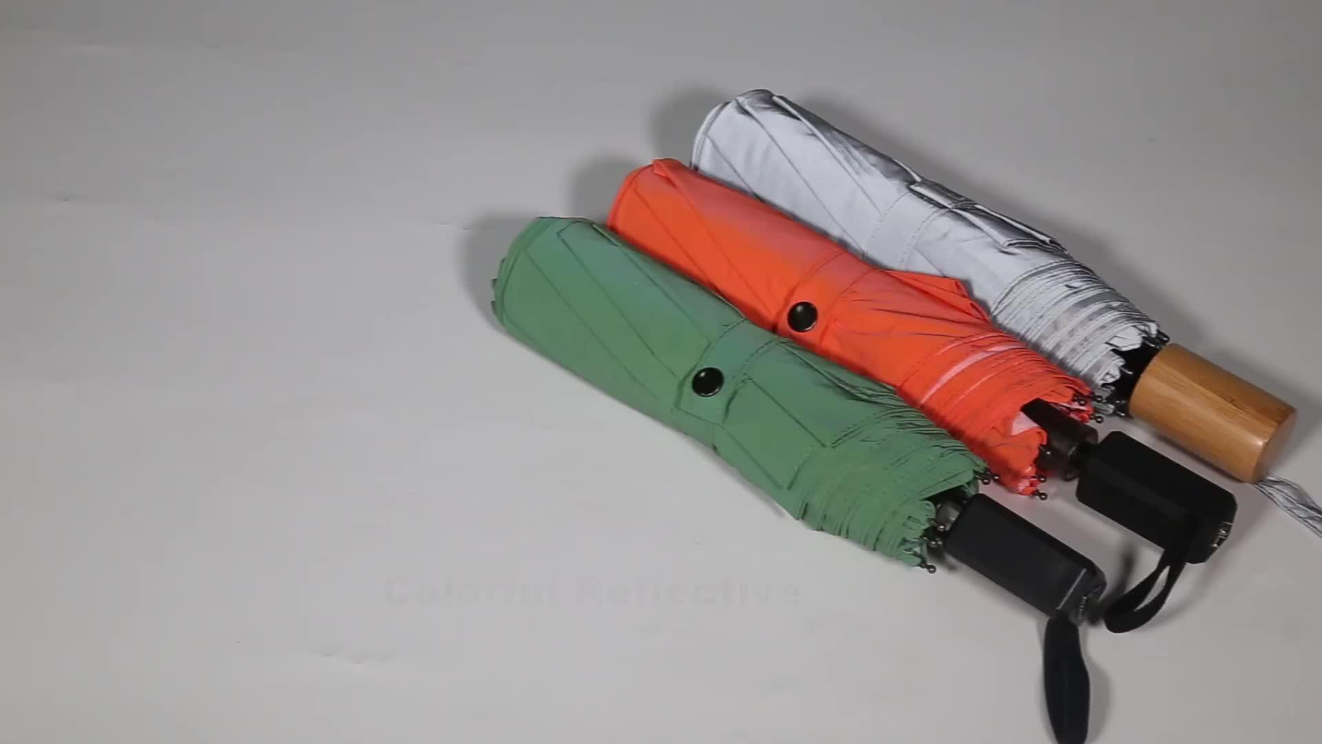 Hoge kwaliteit reflecterende chinese paraplu
