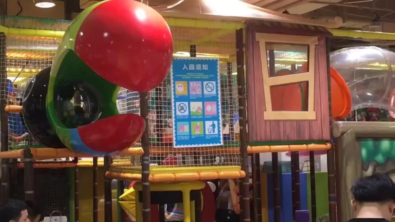 ילדים גן עדן גן שעשועים מקורה, משחק שקופיות פלסטיק זול