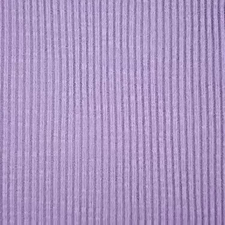 9189 # Le fabricant ventes 30% coton, 63% polyester et 7% spandex 2*2 tricot grossier tissu côtelé pour manches courtes et pyjama