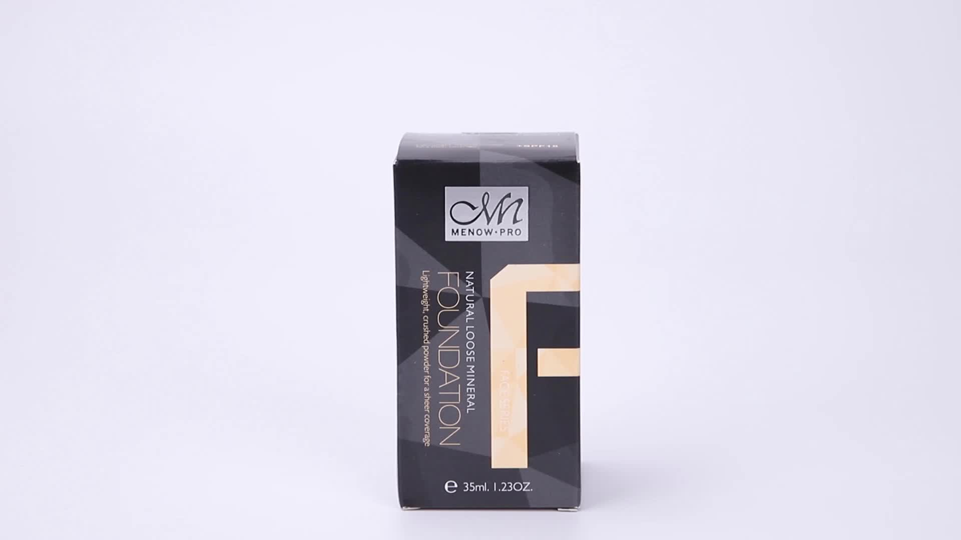 Menow F16001 Face Cosmetics Makeup Waterproof Foundation