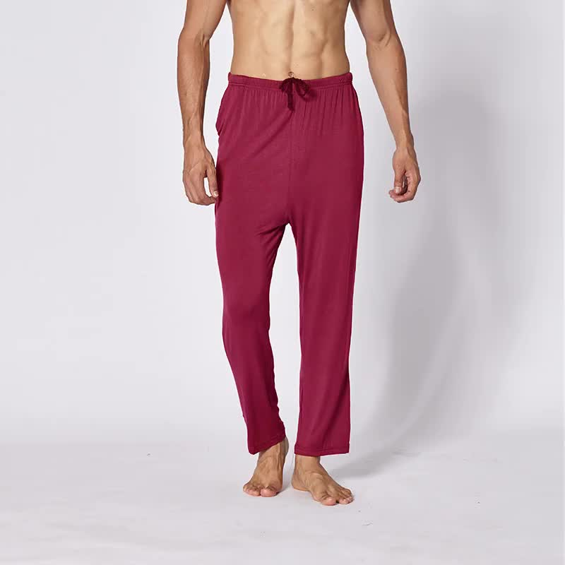 Byval Wholesale Custom Drawstring Casual  Mens Fashion Joggers Polyester Loose Sweatpants