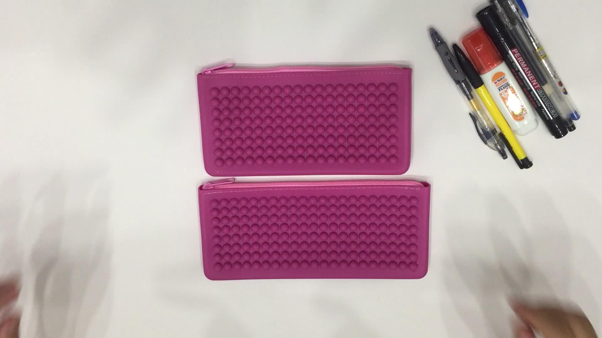 マルチ有用なキャンディーゼリー財布ポーチジッパー財布カスタム旅行化粧品袋