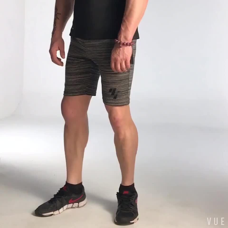 Wholesale custom  Running workout Clothing Gym Wear French Terry grey cotton Men sweat Shorts