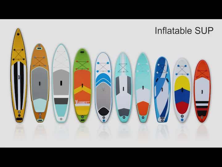 wholesale Inflatable SUP CRUISER Stand up Paddle Board with Adjustable Paddle, Coil Leash, Travel Backpack