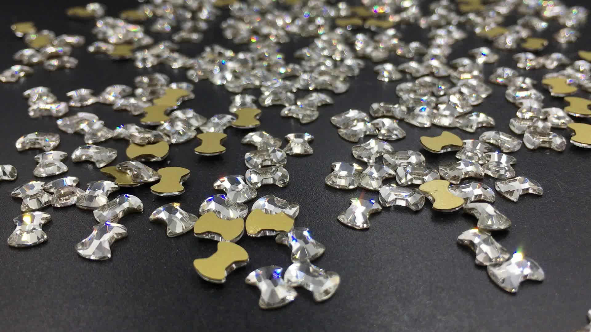 Super Brilhantes Cristais Diamantes Pedras Preciosas 3D Unhas Decorações Strass Para Unhas de Acrílico Sapatos Roupas Telefones
