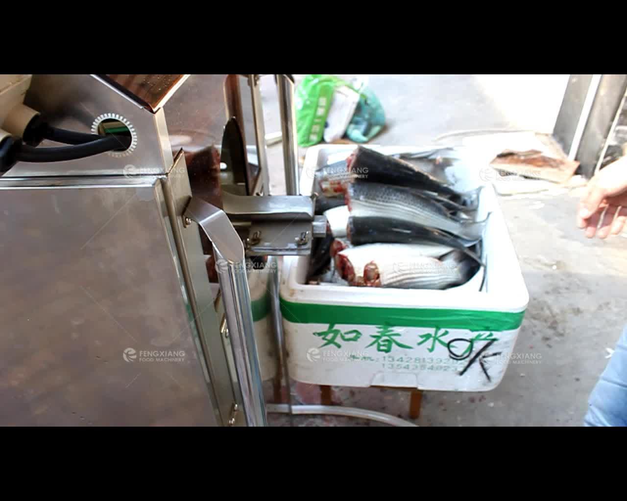 Fish Fillet Machine Fish Cutting Machine Filleting Salmon Sooted mackerel Atka mackerel Pollack Cod Deboner