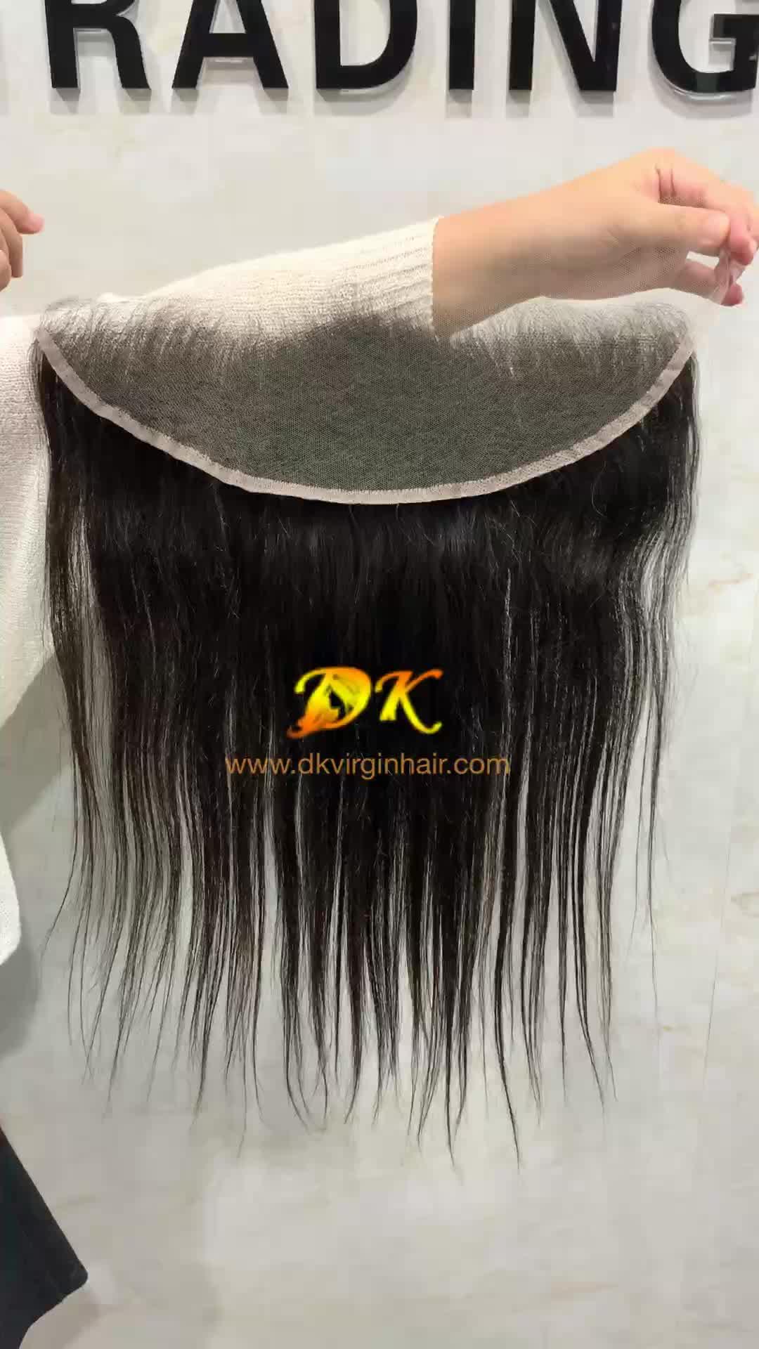 Baru HD Renda 13X6 Renda Frontal Wig Lembut 13X4 HD Renda Depan/Front Wig