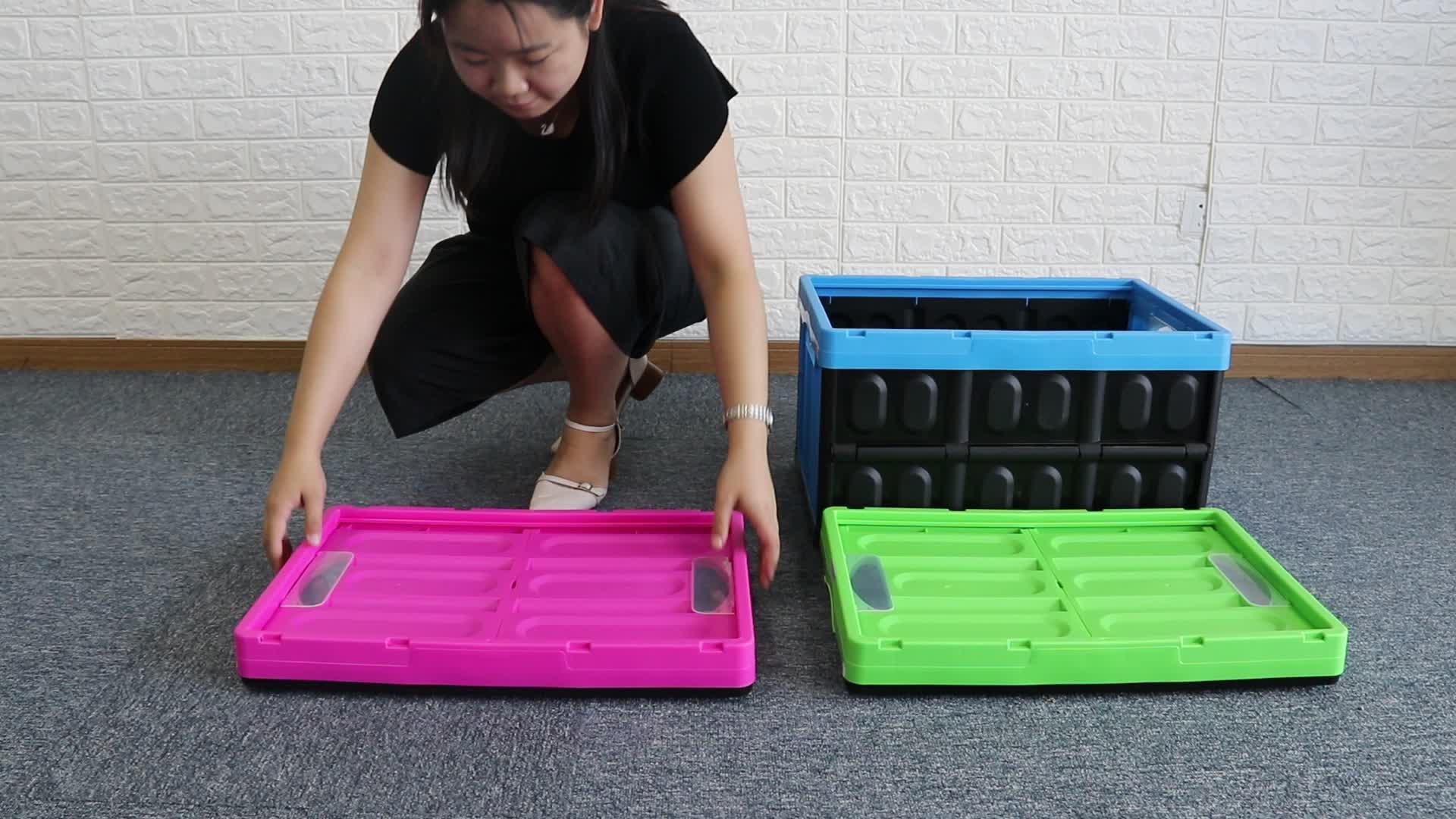 Pliable bacs de rangement et pliable fourre-tout pliant boîtes de rangement royaume-uni