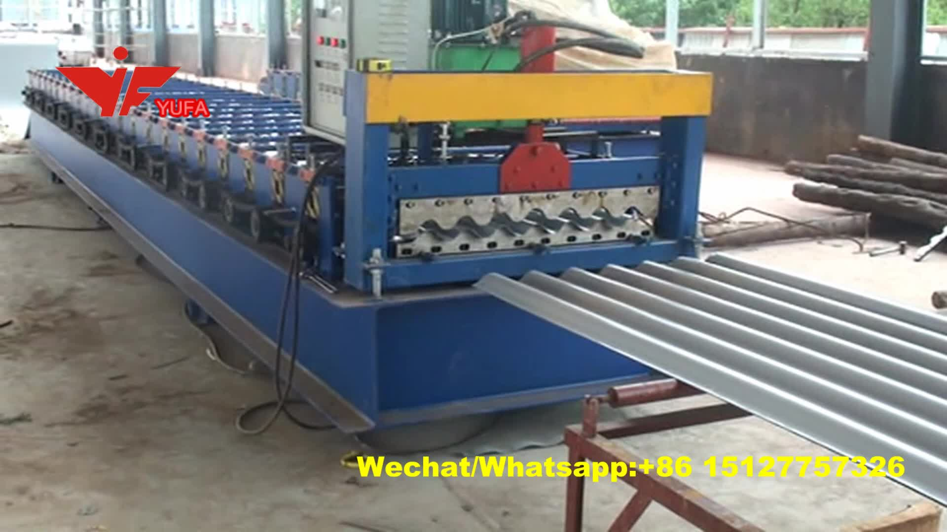 Roofing Used Corrugated Steel Silo Panel Roll Forming