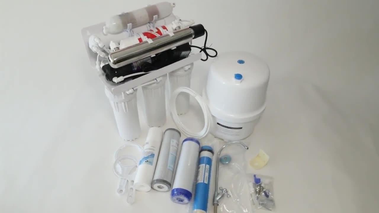 5 /6 /7 della fase del sistema di acqua ro depuratore di acqua ad osmosi inversa stand filtro acqua con UV