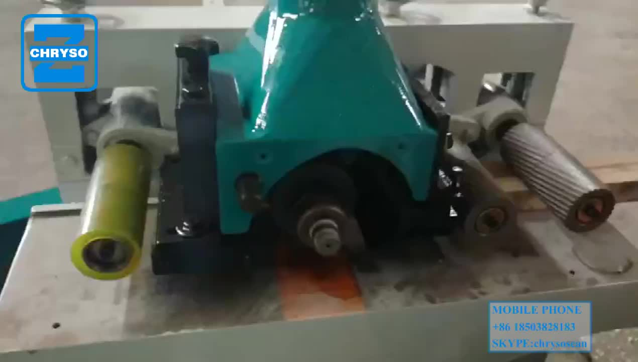 Automatic planning straight line wood cutting Machine