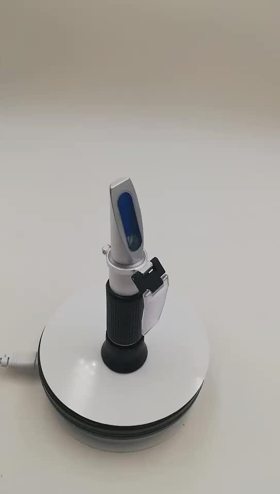 Gelsonlab HS-RH 0 - 90% Brix Meter Refractometer V - Resourcing แบบพกพามือถือน้ำตาลเนื้อหาการวัดสำหรับน้ำตาล, อาหาร, ผลไม้