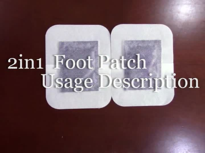 High quality popular lavender sleeping slimming foot patch in Malaysia