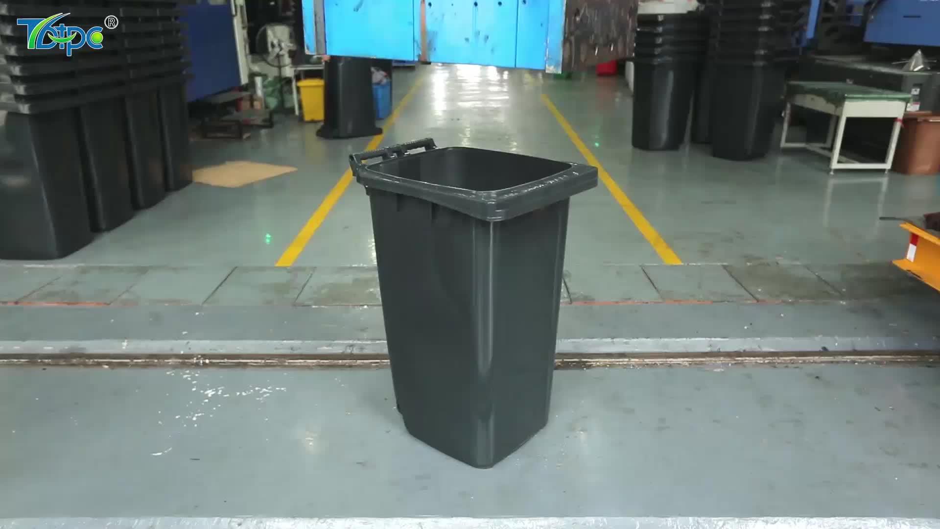 240l barato de la basura de plástico eco verde productos