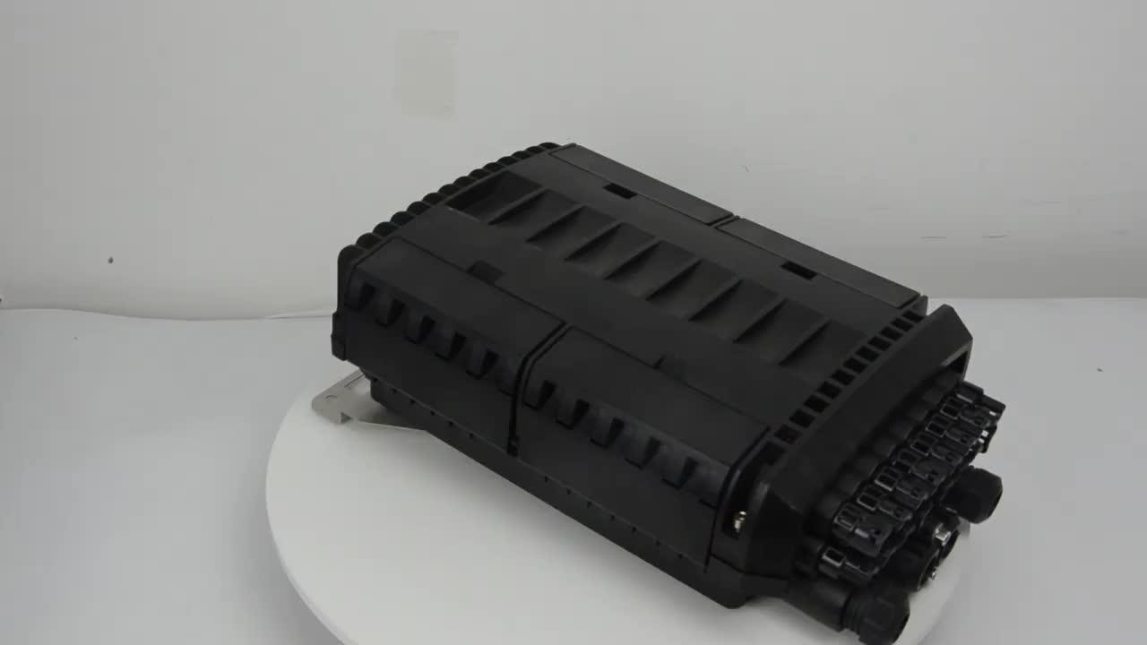 FTTH fttx odak 96 çekirdekli fiber optik ek yeri eklemi kapatma optik fiber dağıtım kutusu