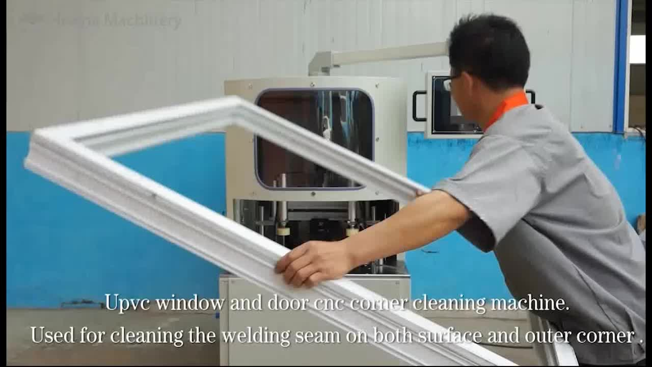 Corner Cleaning Machine UPVC Door and Window CNC Corner Cleaning Machine