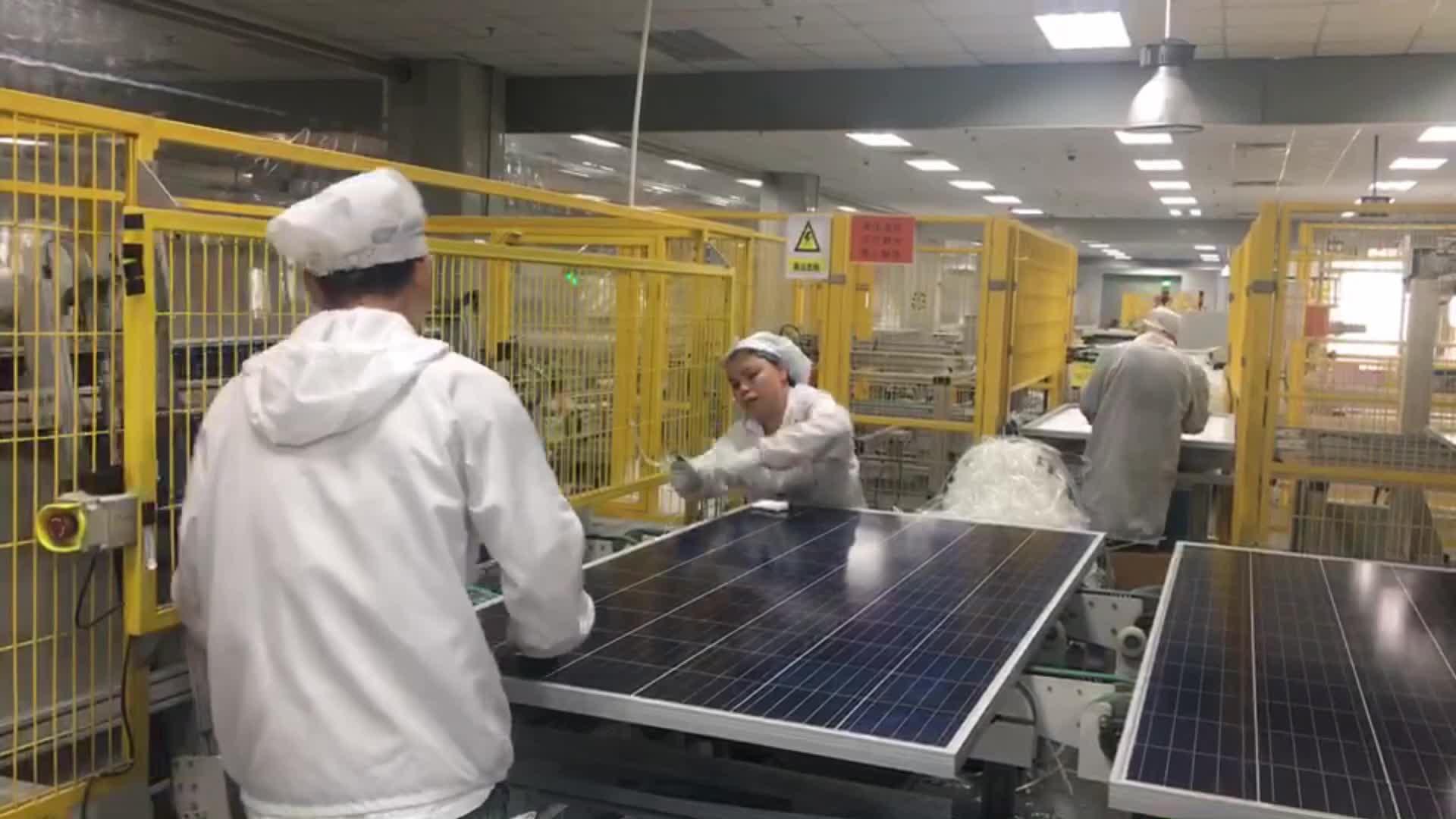 خلايا سولر الكريستالات 350 واط لوحة لوحة طاقة شمسية 36 فولت لوحة خلايا عدة 360 واط