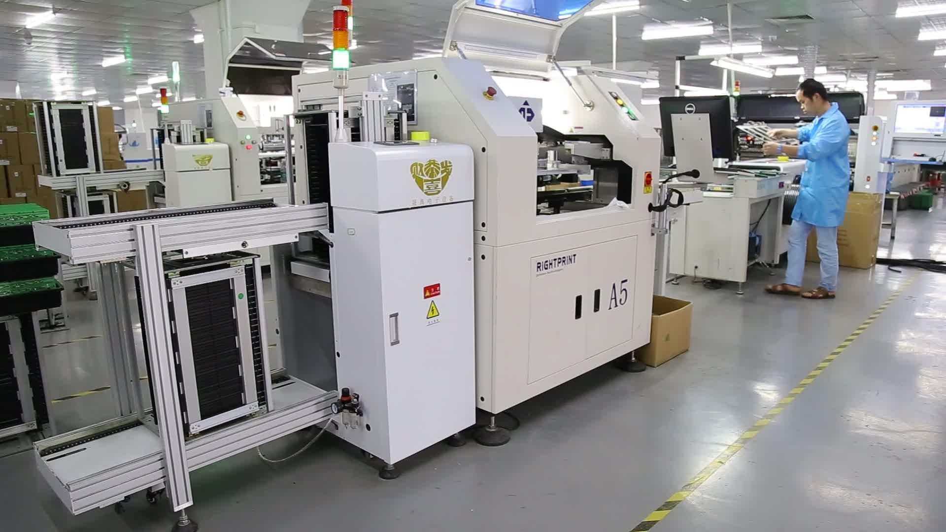 श्रीमती स्वत: पीसीबी कन्वेयर पीसीबी पत्रिका unloader एसएमडी टांका लगाने की मशीन