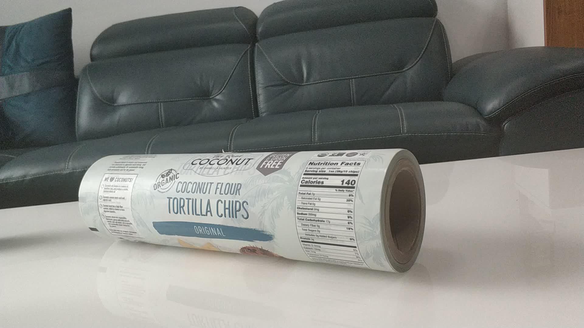 Упаковка для пищевых продуктов пластиковая рулонная пленка/гибкий упаковочный материал/поставщик пластикового упаковочного материала