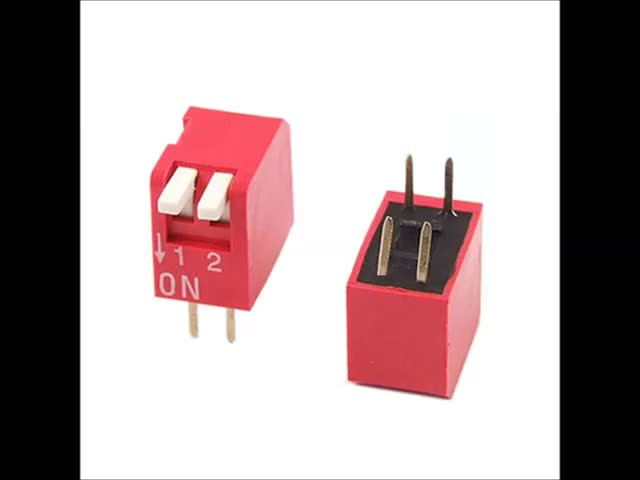 RoHS compliant Miniature 5 Position Piano Type Dip Switch